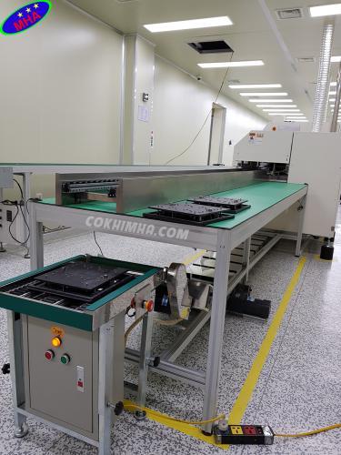 Sản xuất băng tải công nghiệp