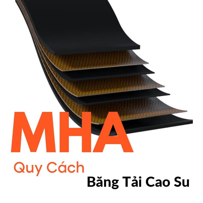 Bảng Quy Cách Băng Tải Cao Su Phổ Biến | MHA